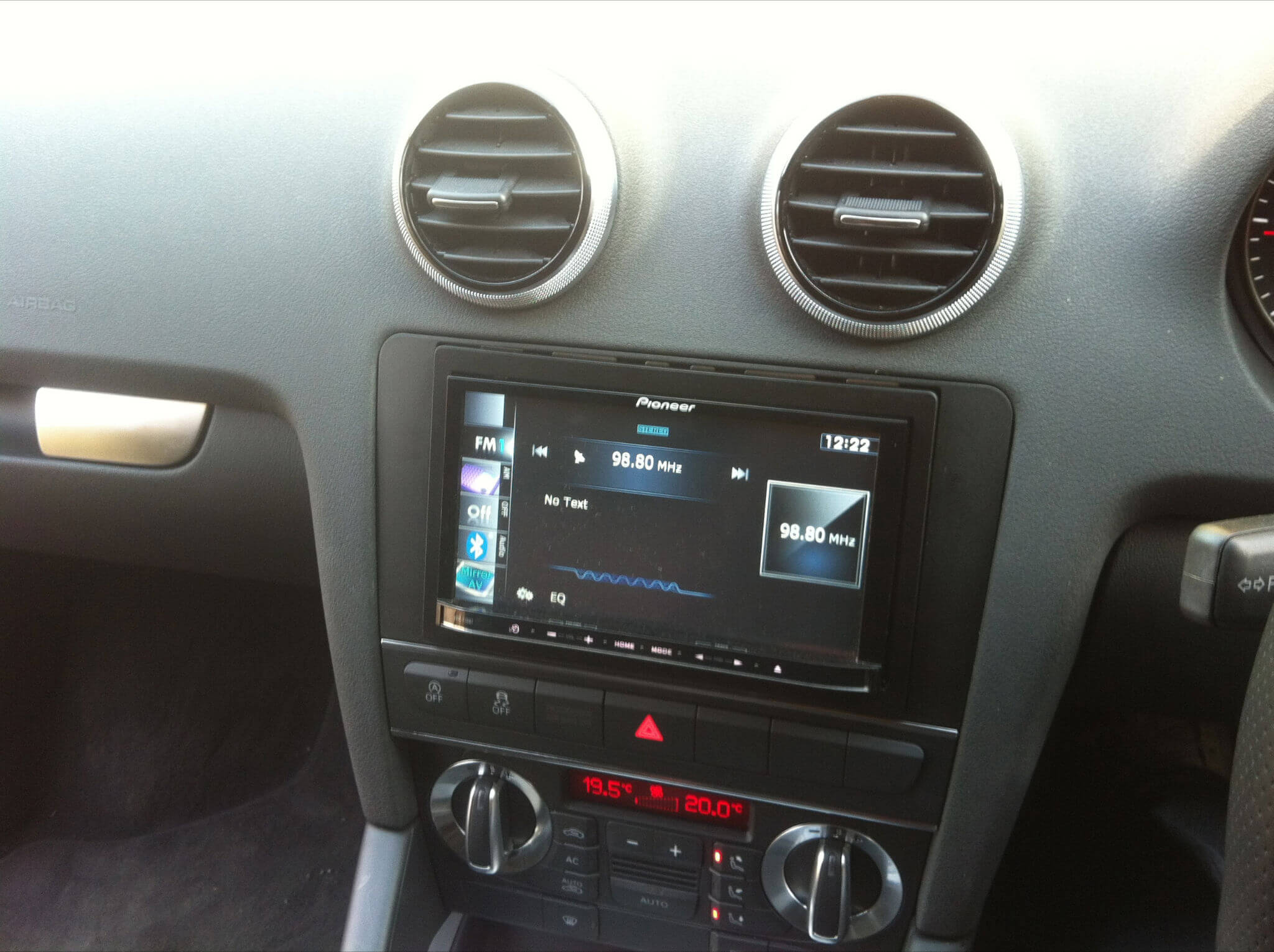 Audi-A3-with-Pioneer-head-unit-installed