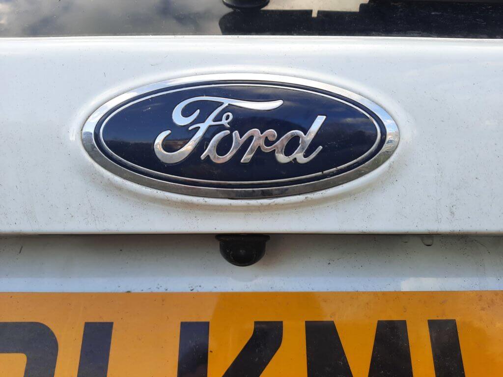 Ford Kuga Reverse Camera
