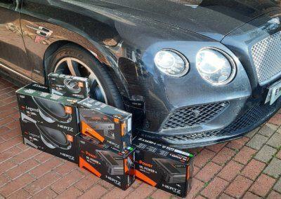Bentley GTC Audio upgrade