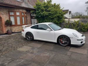 Porsche 911 GT3 side