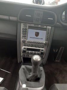 Porsche GT3 911 radio before