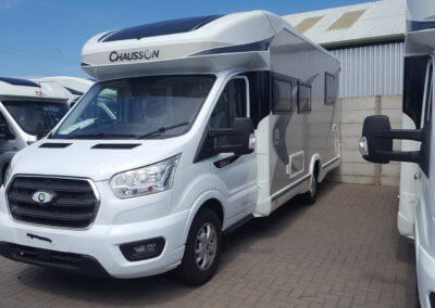 Motorhome with cat 1 alarm installed