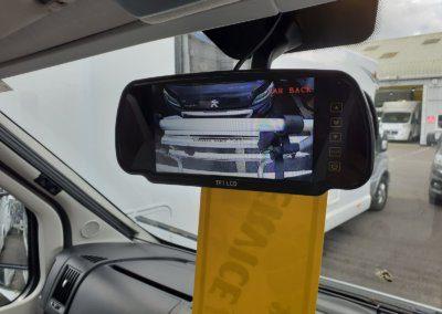Motorhome Mirror Monitor reverse camera