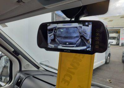 Motorhome reverse camera (rear)
