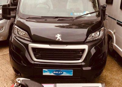 Peugeot Bailey Motorhome with Autowatch alarm