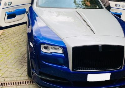 Rolls Royce Dawn with witness camera
