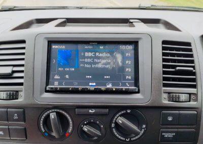 VW T5 Kenwood radio upgrade