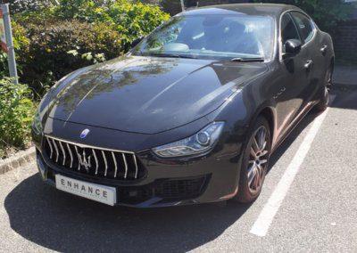 Maserati Ghibli 2020 reverse camera