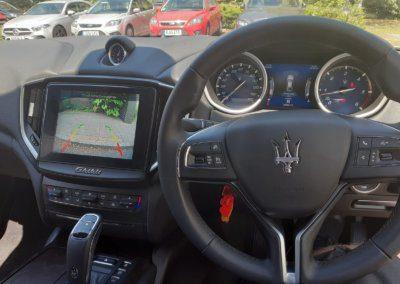 Maserati Ghibili 2020 reverse camera on radio