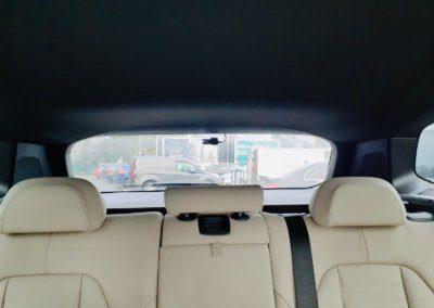 BMW X5 rear witness camera