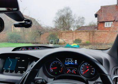 Ford Focus front Blackvue Dash camera